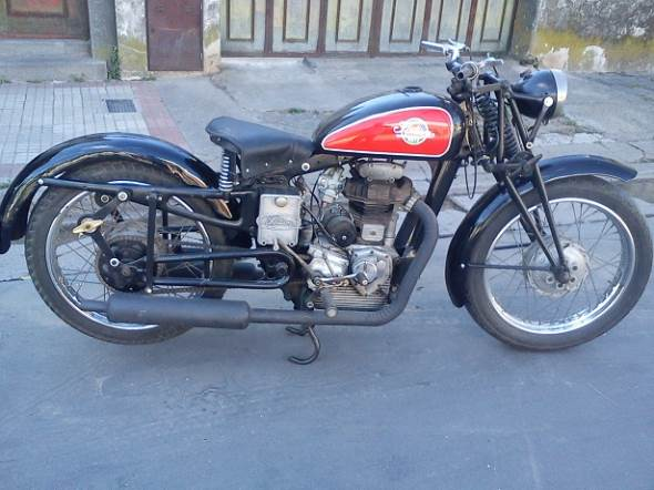 Motorcycle Sertun 250 1940