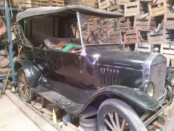Auto Ford T 1925