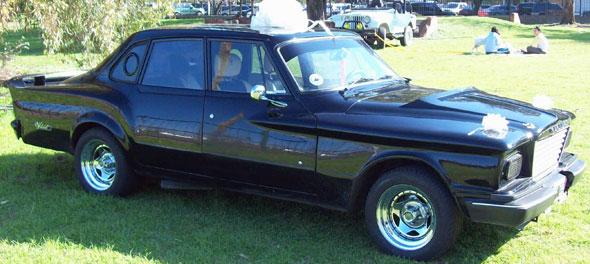 Car Chrysler Valiant