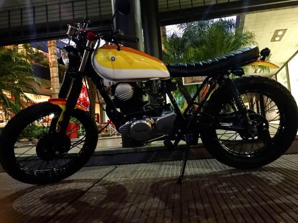 Yamaha SR 250 Motorcycle