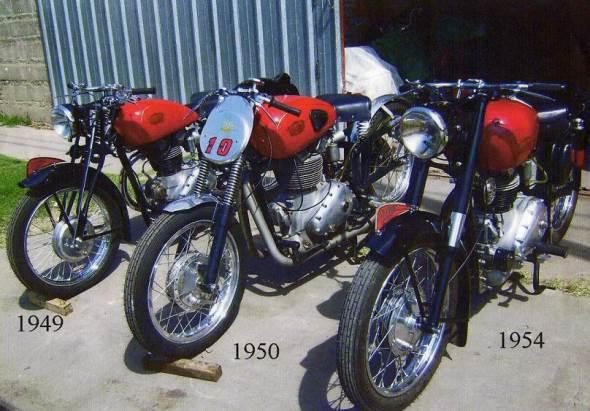Motorcycle Gilera Saturno