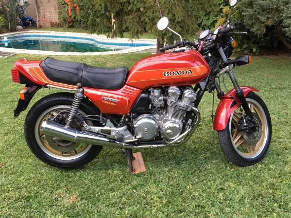 Motorcycle Honda CB900F