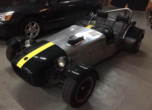 Auto Lotus Seven Serie 3000
