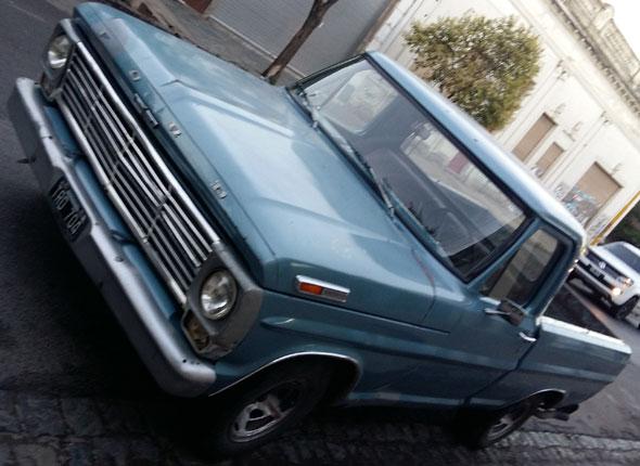 Auto Ford F100 1970