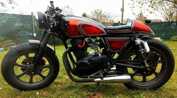 Motorcycle Yamaha XS400