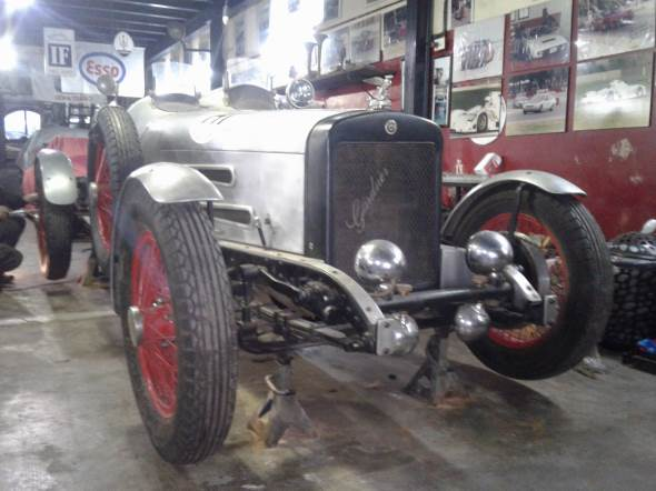 Auto Gardner 1928 Baquet