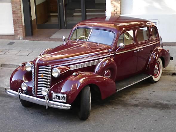 Car Buick 1938 Century