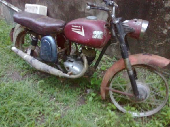 Moto DKW 1960