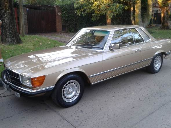 Auto Mercedes Benz 280 SLC