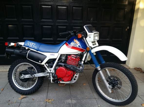 Moto Honda XL600R 1987