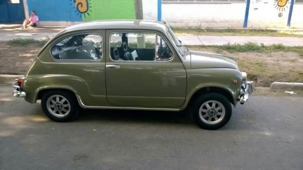 Auto Fiat 600 1968