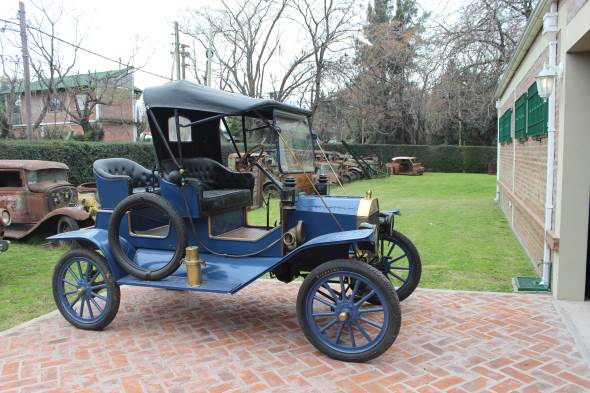 Auto Ford T 1912