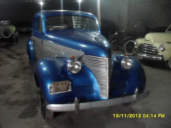 Car Chevrolet 1939 Master De Luxe