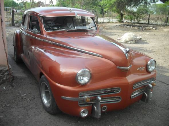 Car De Soto 1948
