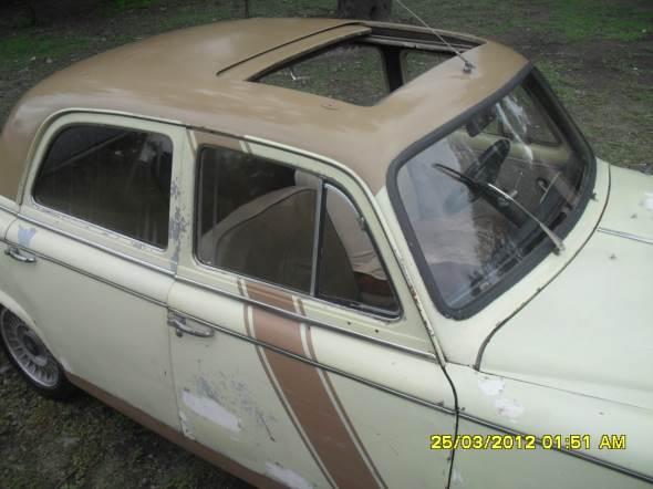 Car Peugeot 403 1963