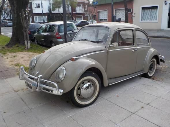 Car Volkswagen Escarabajo Sunroof 1967