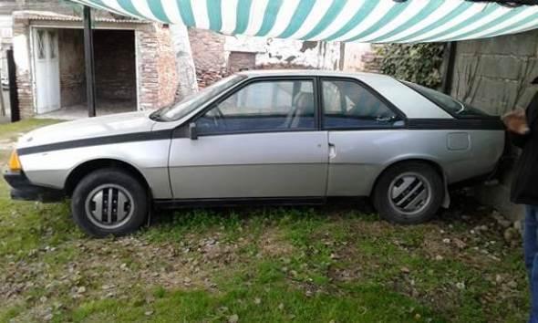 Car Renault Fuego 1986