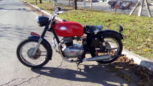 Moto Gilera 1958