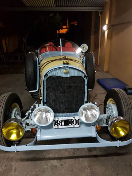 Auto Ford A 1928 Baquet
