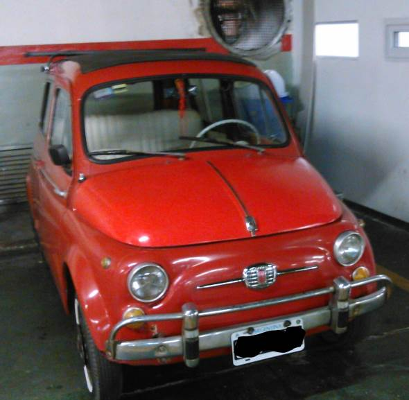 Auto Fiat 500 Giardiniera