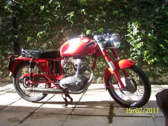 Moto Ducati 175 Turismo 1958