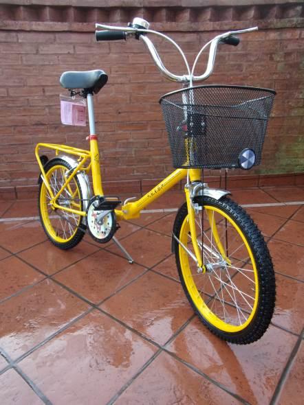 Bicicleta Bicicleta Plegable Butterflies R20