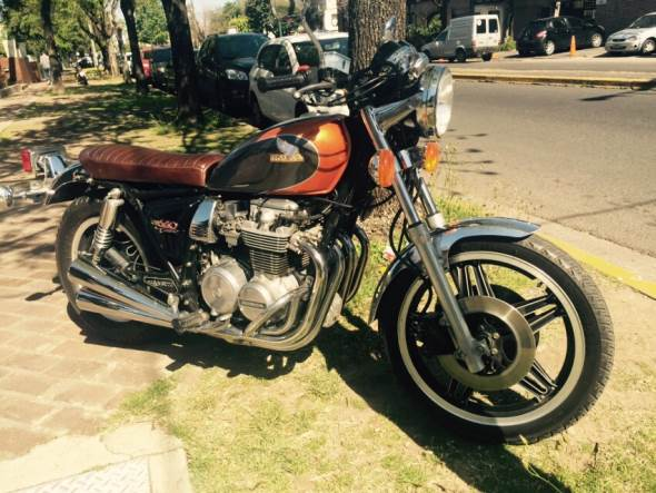 Motorcycle Honda CB650C