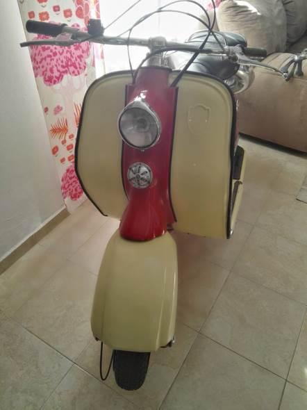 Motorcycle Lambretta 125 1954