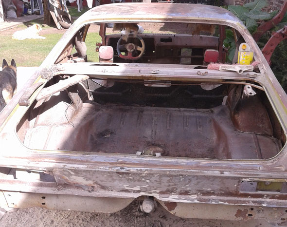 Auto Chevrolet Chevy Coupé