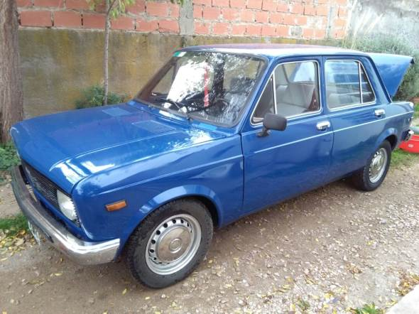 Auto Fiat 128 Europa 1980