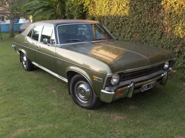 Auto Chevrolet Chevy 1971