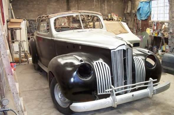 Car Packard Coupé Convertible 110