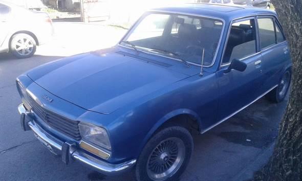 Car Peugeot 1980