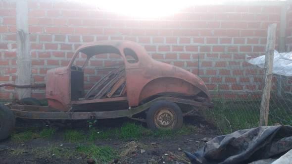 Car Chevrolet 1936 Coupé
