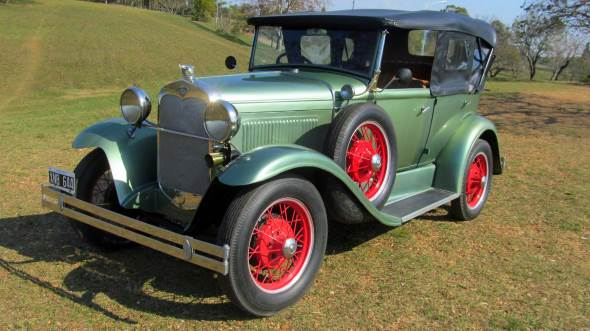 Car Ford A Doble Phaeton 1930
