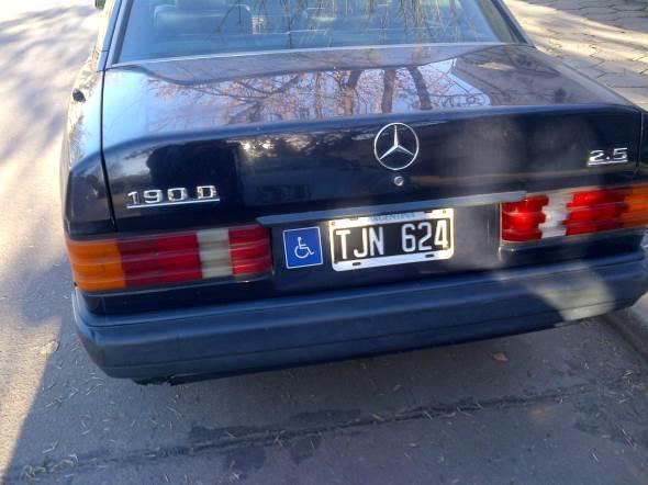 Car Mercedes Benz 190 D 2.5