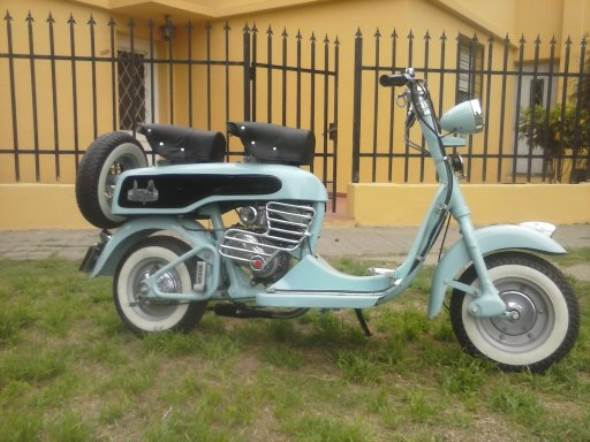 Moto Dunki Felina 98