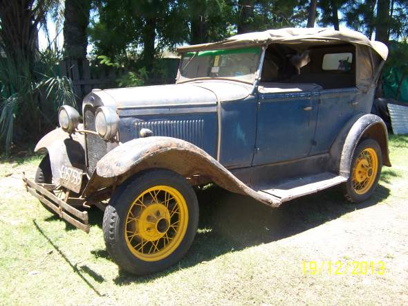 Car Ford A 1930