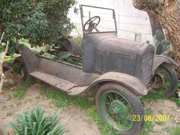 Car Ford T 1922
