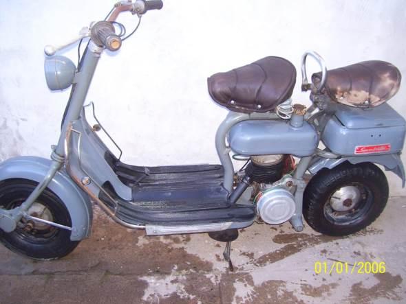 Motorcycle Siambretta 125