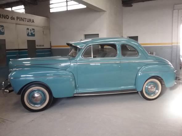 Car Ford Mercury Coupé 1941