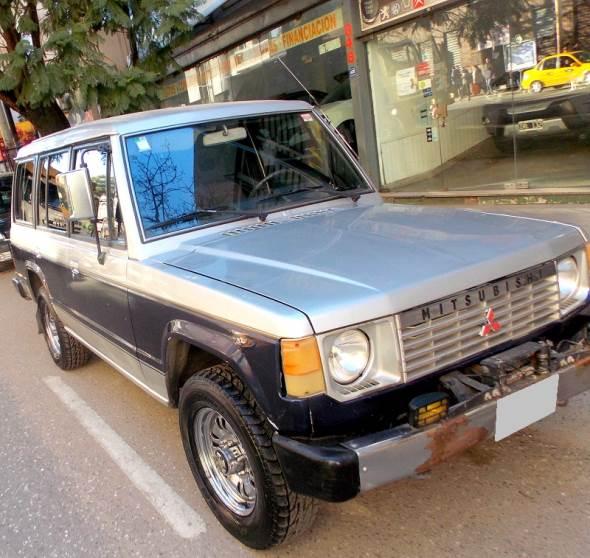 Car Mitsubishi Montero 2.6 GLX