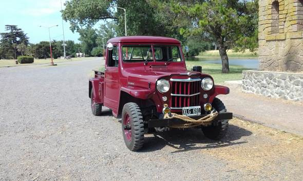 Car Willys Overland Truck 1954 4x4