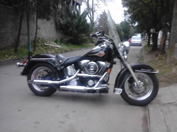 Car Harley Davidson Softail Classic