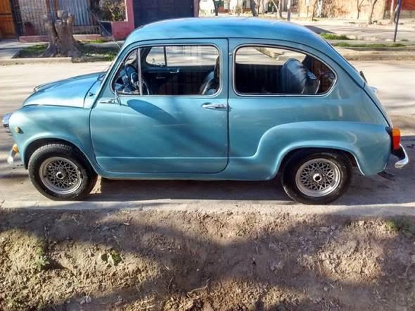 Auto Fiat 600 E 1970