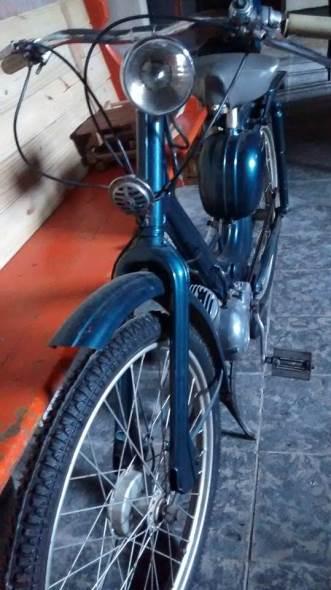 Siambretta 48 1960 Motorcycle