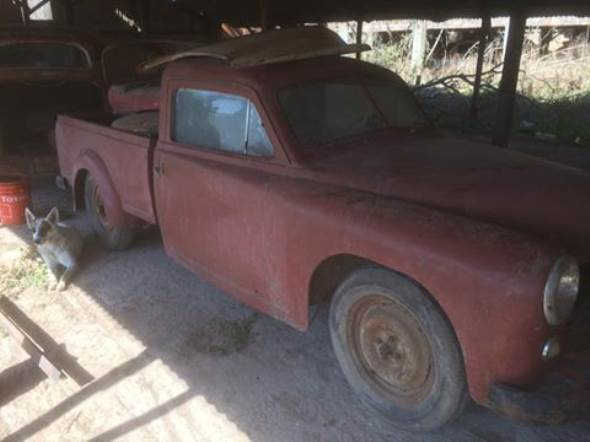 Auto Justicialista Pick Up 1954