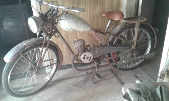 Motorcycle Puma 1954