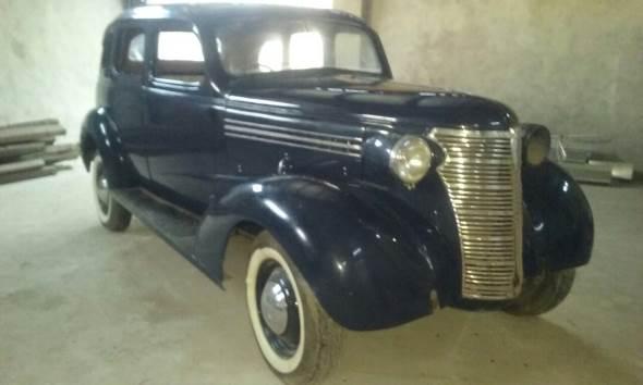 Auto Chevrolet 1938 Sedán