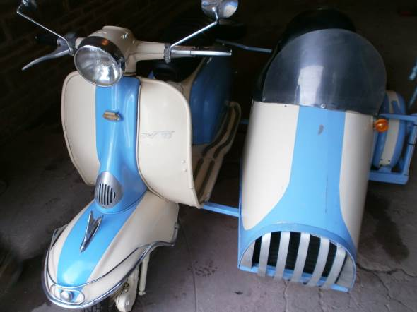 Motorcycle Siambretta TV 175 1963